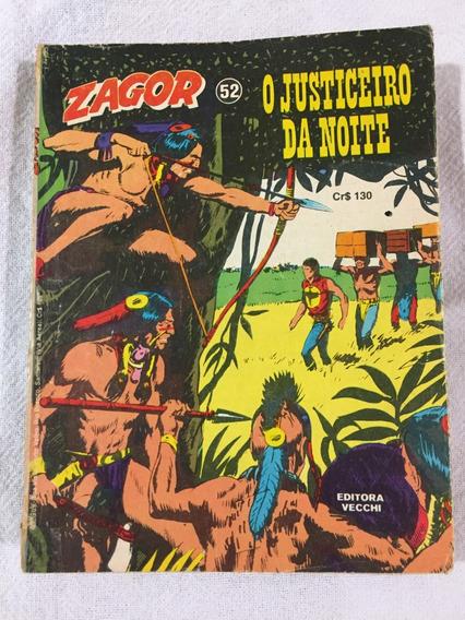 Zagor 52, 50 E 53 Da Vecchi - Edições Raras Originais (1982)