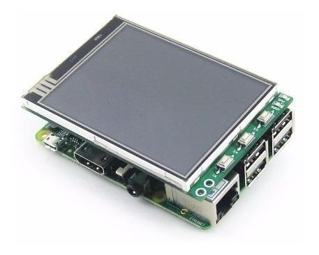 Display Lcd 3.2 Touch Para Raspberry Pi 3 Tft 320x240