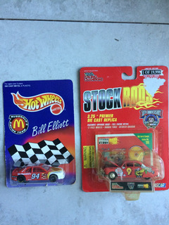Lote Miniatura Hot Wheels E Racing Champions Nascar