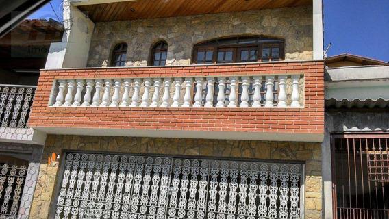 Sobrado Residencial À Venda, Jaguaribe, Osasco. - So0163