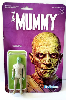 The Mummy Reaction Monters Universal Studios Super 7 Rosario