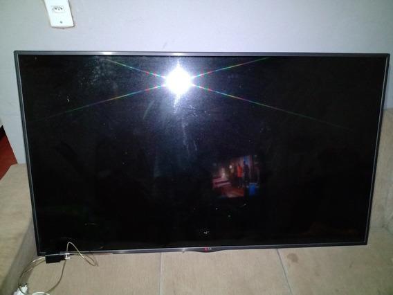 Tv LG 60 Polegadas Smarth Está Com A Tela Quebrada