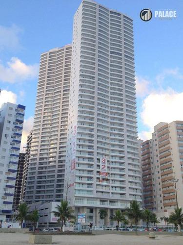 Apartamento Com 3 Dormitórios À Venda, 111 M² Por R$ 900.000,00 - Boqueirão - Praia Grande/sp - Ap2601