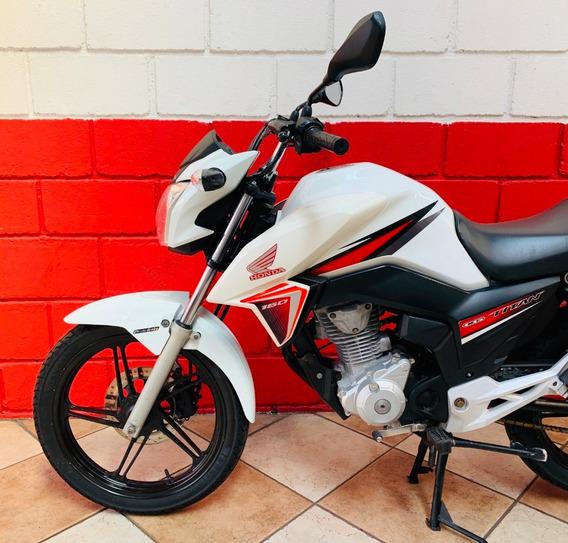 Honda Cg 160 Titan Ex - 2016 - Financiamos - Km 62.000
