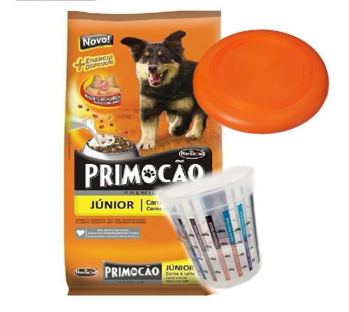 Imagen 1 de 2 de Primocao Junior Cachorro 20 Kg Con Frisbee O Medidor