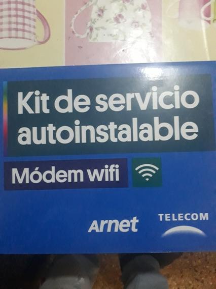 Modem Router Adsl Vdsl Arnet Speedy Kit Autoinstalable