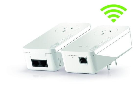 Extensor Wifi Red Electrica Devolo 550+ Starter Kit Plc