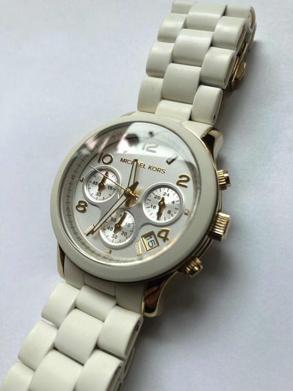 Relógio Michael Kors Mk5145 Branco