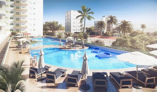 Imagem 1 de 14 de Apartamento 2 Dormitórios 100 Metros Praia - Forte Ams41