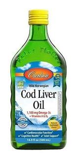 Carlson Noruega Aceite De Hígado De Bacalao De Sabor Regular