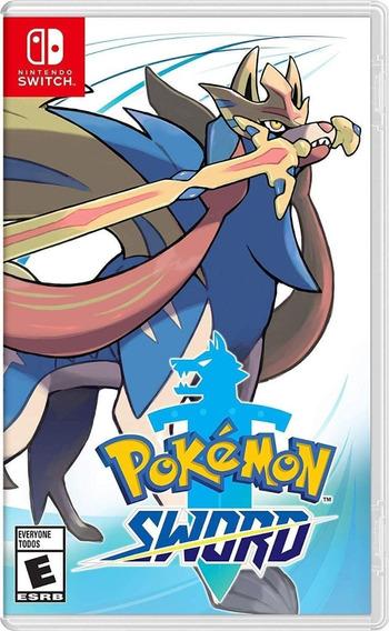 Pokémon Sword - Nintendo Switch - Mídia Física - Impecável