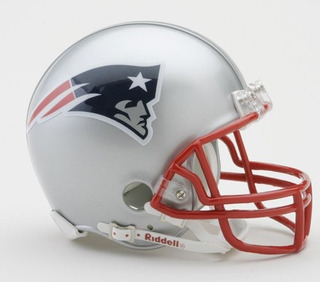 Nfl New England Patriots Replica Mini Casco De Fútbol