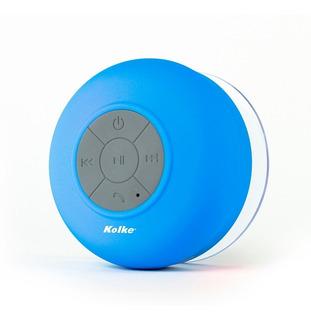 Parlante Baño Sopapa Portatil Bluetooth Led Resistente Agua