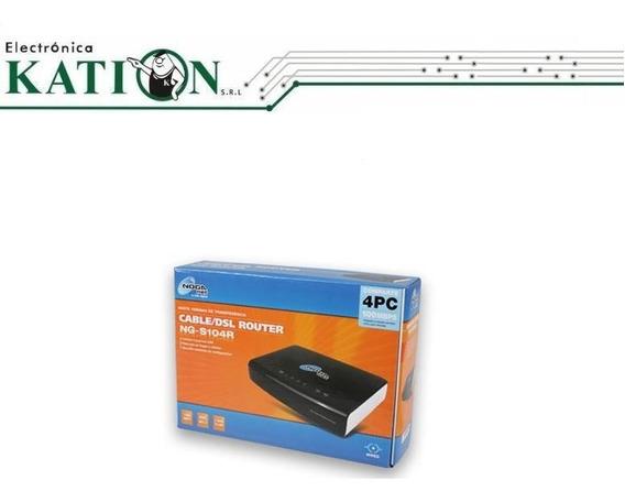 Router Noga Ng S104r La Plata