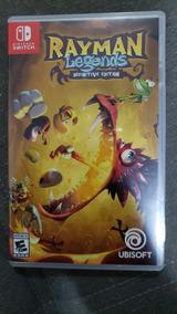Jogo Rayman Legends Nintendo Switch - Mídia Física