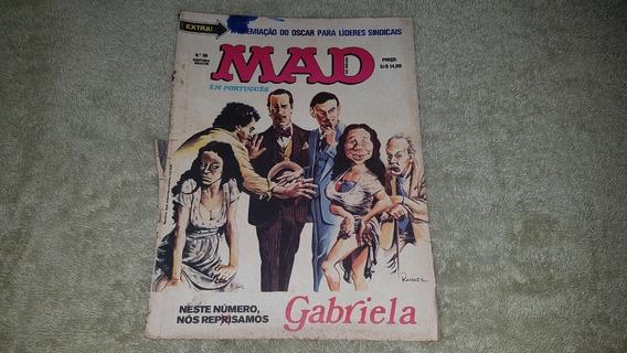 Revista Mad Nº 58 - Ed. Vecchi - 1979 - F. Álbum - P & B