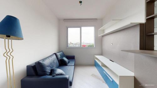 Imagem 1 de 26 de Apartamento Para Venda Com 31 M²   Água Branca  São Paulo Sp - Ap553695v