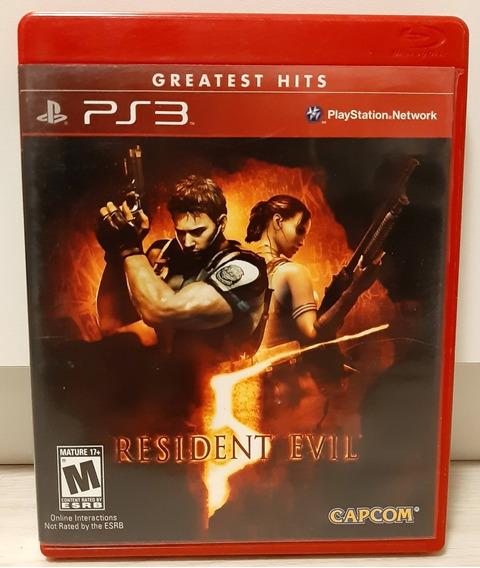 Resident Evil 5 P/ Playstation 3 | Mídia Física