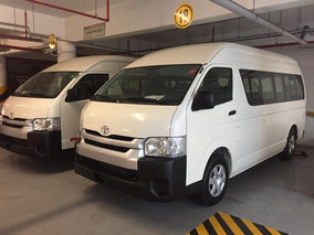 Toyota Hiace 2019 Techo Alto Full Equipo