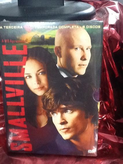 Dvd Smallville 3ª Temporada 6 Discos