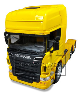Caminhão Miniatura Scania R730 Trucado 1:32 21cm