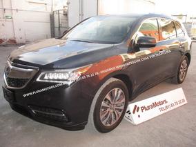 Acura Mdx Tech 2014 7pas Piel Quemacocos Gps $349,000