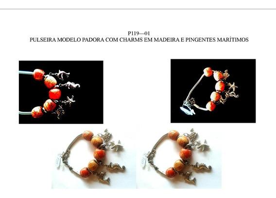 Hoss - Pulseiras Modelo Pandora - Aço Cirúrgico Antialérgico