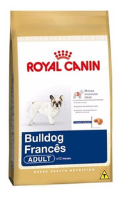 Ração Royal Canin Buldog Frances Adult.26 7,5 Kg
