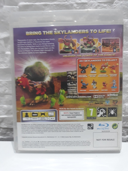 Jogo Skylanders Giants Ps3