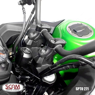 Scam Spto271 Riser Adaptador Guidao Bmw G310r 2017+ Preto
