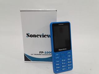 Telefono Soneview Fp-1000 Usado Azul Tienda Virtual