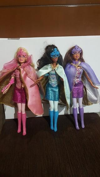 Boneca Barbies As Três Mosqueteiras