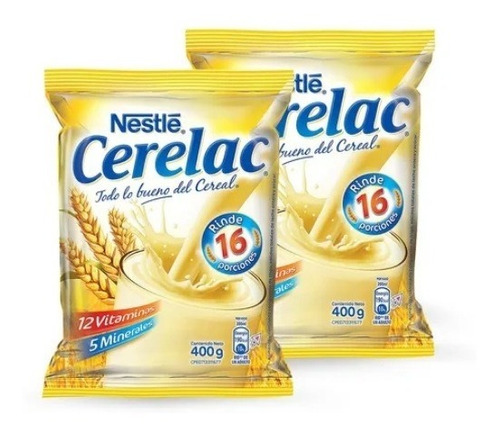 Imagen 1 de 2 de Pack 2cerelac Venezolano Nestle - g a $56