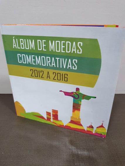 Álbum De Moedas Comemorativas - 1 Real - Olimpíadas