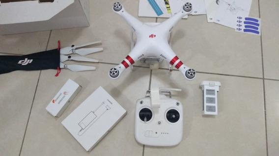 Drone Phantom 3 Standard Completo Semi Novo Tudo Funcionando