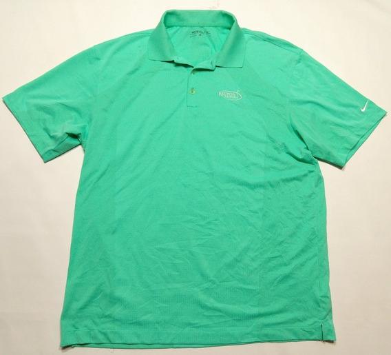Chomba Golf Nike Verde Sintetica Talle Xl