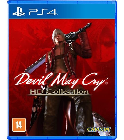 Devil May Cry Hd Collection Ps4 Nacional Lacrado Rj