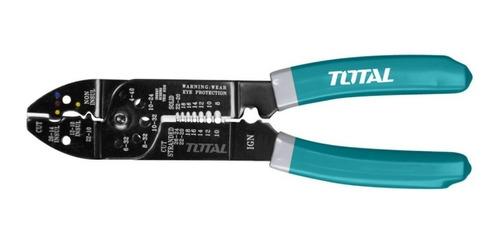 Imagen 1 de 3 de Alicate  Pela Cables Industrial 8.5   Total Tht15851