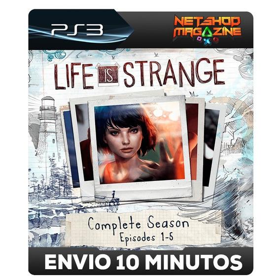 Temporada Completa De Life Is Strange - Psn Ps3 - Envio Ja
