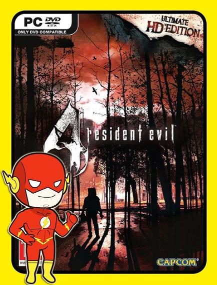 Resident Evil 4 Ultimate Pc - Steam Key (envio Flash)