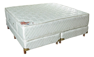 Sommier Resortes Deseo Rubi 2 Plazas 1/2 Pillow Top 160 200