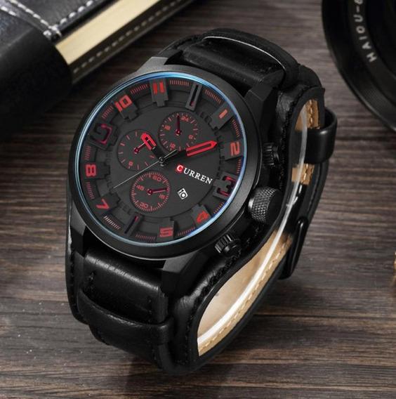 Relógio Curren 8225 Esportivo Masculino Original Moda
