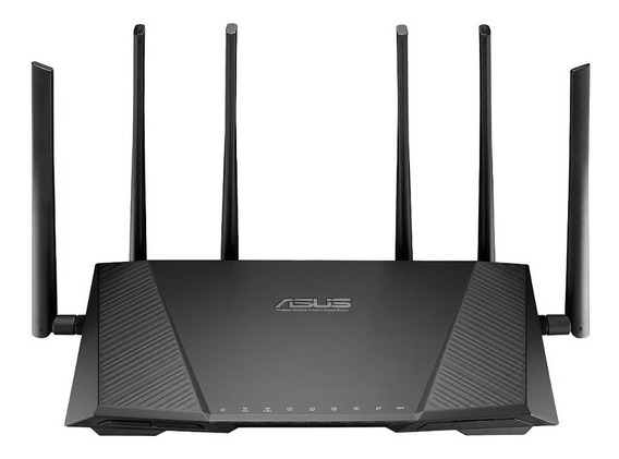 Roteador Asus Rt-ac3200 Tri-band Wireless Gigabit Novo! 2015