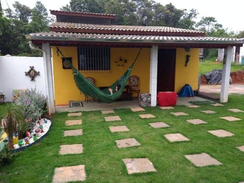 Chácara,  À Venda, 1000 M² Por R$ 400.000 - Cachoeira - Santa Isabel/sp - Ch0072