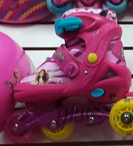 Patines Frozen, Barbie,princesa, De Oka