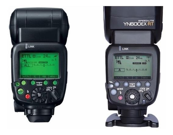 Flash Yongnuo Yn600ex-rt 600 Ex Rt + Par Radios Yn622c