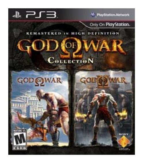 God Of War Collection Ps3 Psn Envio Rápido