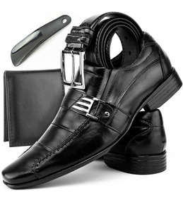 Sapato Social Sapatenis Masculino Kit 4x1 Casual Melipontos