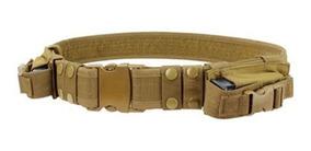 Cinto Tático Militar Airsoft Com Porta Magazi Mag Gbb Sniper