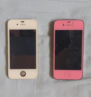 Lote De 2 iPhone 4s + Samsung P/ Retirar Peças
